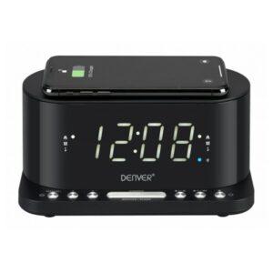 Rádio Despertador com Carregador sem Fios Denver Electronics CRQ-110 12