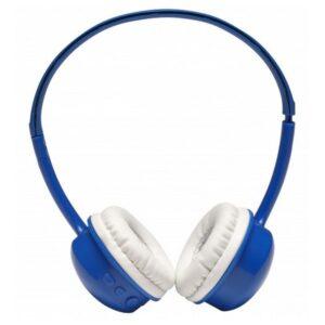 Auscultadores de Diadema Dobráveis com Bluetooth Denver Electronics BTH-150 250 mAh Azul