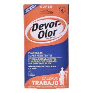 Palmilhas Desodorizantes Super Devor-olor 2 Unidades