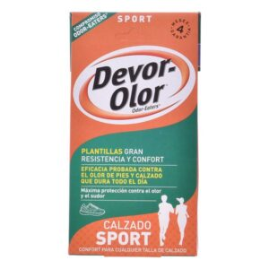 Palmilhas Desodorizantes Sport Devor-olor 2 Unidades