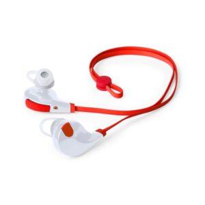 Auriculares Bluetooth para prática desportiva 145070 Vermelho