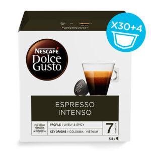 34 Cápsulas de café | Nescafé Dolce Gusto Espresso intenso