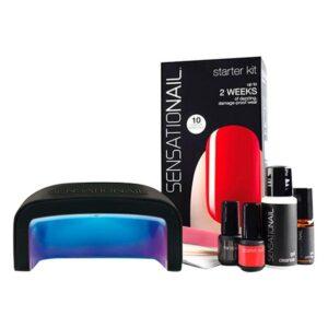 Set de manicure Starter Fing'Rs (6 pcs) Scarlet Red