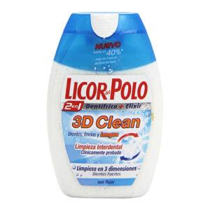 Pasta de dentes 3d Clean Licor Del Polo (75 ml)