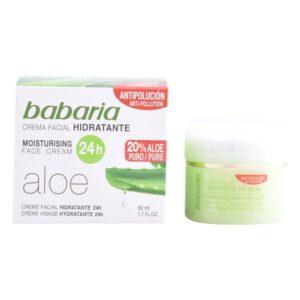 Creme Facial Nutritivo Aloe Vera Babaria (50 ml)