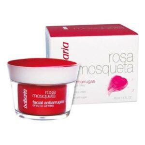 Creme Antienvelhecimento Efeito Lifting Babaria Rosa mosqueta 50 ml