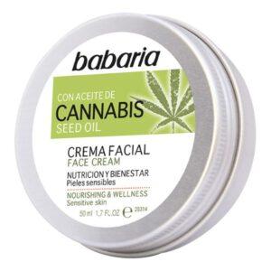 Creme Facial Nutritivo Cannabis Babaria (50 ml)