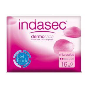 Pensos Higiénicos para Incontinência Dermoseda Micro Plus Indasec (16 uds)