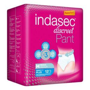 Fraldas Para Pessoas Não Dependentes Pant Plus Indasec (12 uds)