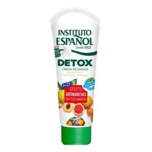 Creme de Mãos Antimanchas Detox Instituto Español (75 ml)
