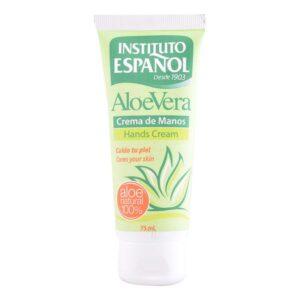 Creme de Mãos Aloe Vera Instituto Español (75 ml)