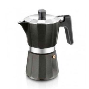 Cafeteira Italiana Black Edition BRA 12 Chávenas