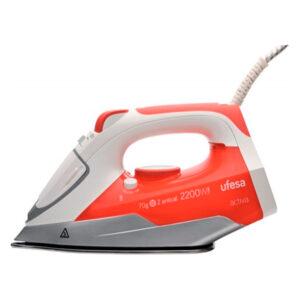 Ferro de Vapor UFESA PV1000 0,25 L 20 g/min 2200W Branco Vermelho