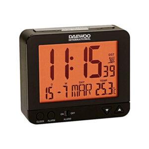 Relógio-Despertador Daewoo DBF120 Preto