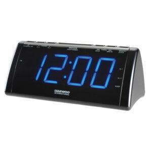 Rádio-despertador com Projetor LCD Daewoo 222932 USB