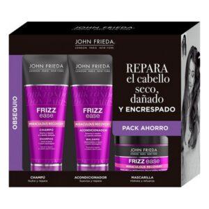 Conjunto de Cabeleireiro Unissexo Frizz-ease Recovery John Frieda (3 pcs)