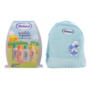 Conjunto de Banho Para Bebé Nenuco 19409 (4 pcs) Azul