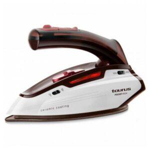 Ferro de viagem a vapor seco Taurus POCKETIRON 1150W 45 G Vermelho/branco