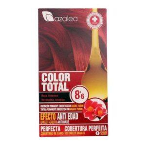 Tinta Permanente Antienvelhecimento Azalea Vermelho intenso