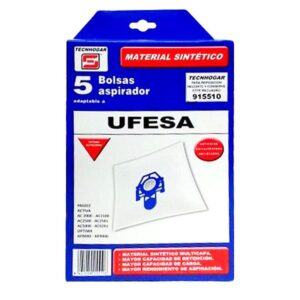 Sacos para Aspirador Ufesa 915510 (5 uds)