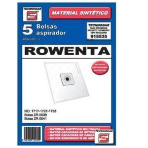 Sacos para Aspirador Rowenta 915535 (5 uds)