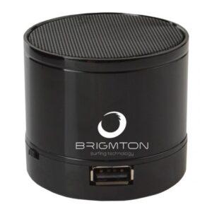 Altifalante Bluetooth BRIGMTON BAMP-703 3W FM Preto