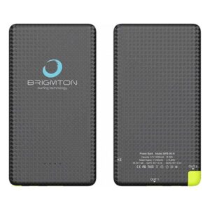 Power Bank BRIGMTON BPB-50 | 5000 mAh | Preto