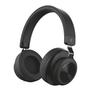 Auscultadores Bluetooth com microfone KSIX 200 mAh Preto