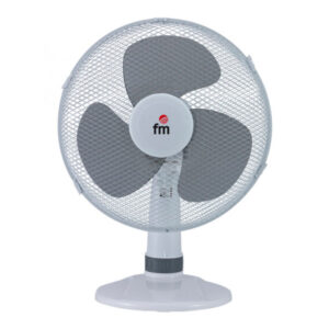 Ventilador de Mesa Grupo FM S130 30 cm 3A 35W Branco