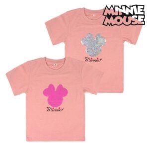 Camisola de Manga Curta Infantil Minnie Mouse 73716 - 6 anos