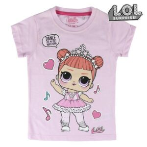 Camisola de Manga Curta Infantil Dance LOL Surprise! 74046 - 5 anos