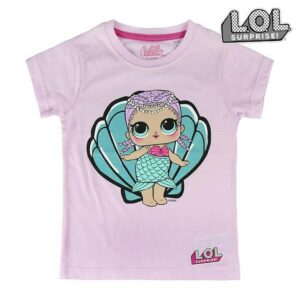 Camisola de Manga Curta Infantil LOL Surprise! 10 anos
