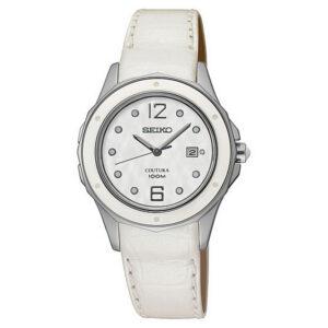 Relógio feminino Seiko SXDE (31 mm) Prateado
