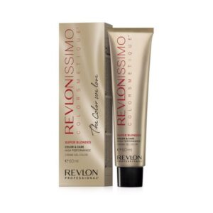 Coloração Permanente em Creme Revlonissimo Intense Blonde Revlon 1212MN - iridescent grey 60 ml