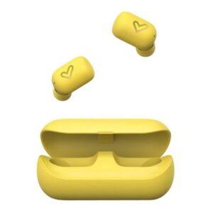 Auriculares Bluetooth com microfone Energy Sistem Urban 4 True 380 mAh Amarelo