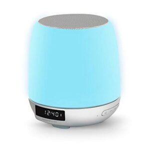 Rádio Despertador com Carregador sem Fios Energy Sistem Clock Speaker 3 Bluetooth RGB 8W