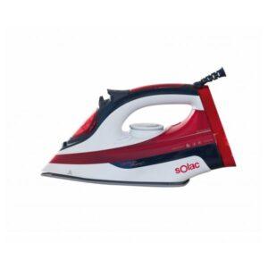 Ferro de Vapor Solac PV2214 OPTIMA PERFECT 2600W 0,38 L Preto Vermelho