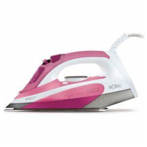 Ferro de Vapor Solac PV2006 2400W Cor de rosa