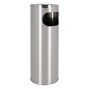 Balde de Lixo com Cinzeiro Confortime Metal (20 X 59 cm)