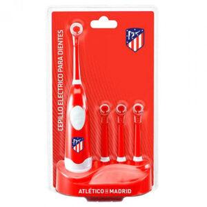 Escova de Dentes Elétrica + Recarga Atlético Madrid Vermelho
