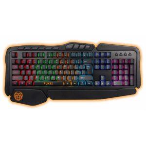 Teclado Gaming iggual IGG315774 LED RGB Preto