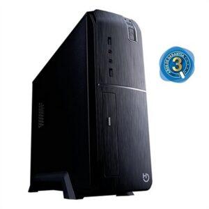 PC de Mesa iggual PSIPC334 i3-8100 8 GB RAM 240 GB SSD Preto