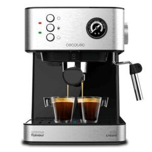 Máquina de Café Expresso Manual Cecotec Power Espresso 20 Professionale 1,5 L Prateado Preto