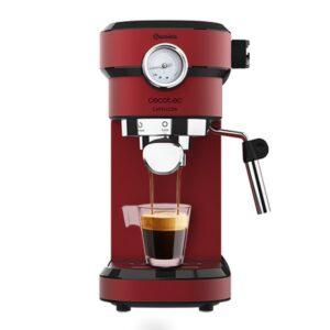 Máquina de Café Expresso Manual Cecotec Cafelizzia 790 Shiny Pro 1,2 L 20 bar 1350W Vermelho