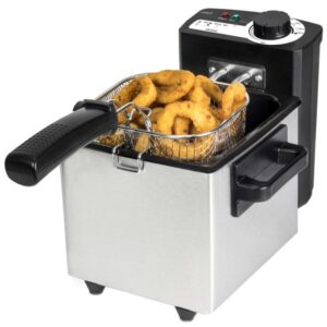 Fritadeira Cecotec Cleanfry 1,5 L 1000W Inox