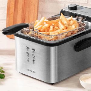 Fritadeira Cecotec CleanFry Infinity 3000 3 L 2400W Aço inoxidável