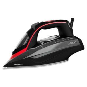 Ferro de Vapor Cecotec 3D ForceAnodized 950 Smart i-Pump 400 ml 3100W Preto Vermelho