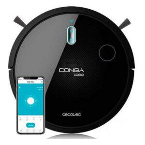 Robot Aspirador Cecotec Conga 1090 Connected 1400 Pa 64 dB WiFi Preto