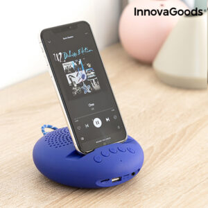 Altifalante sem fios com Suporte para Dispositivos Sonodock InnovaGoods Azul