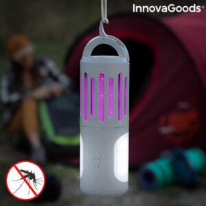Lâmpada antimosquitos, lanterna e foco portátil 3 em 1 Kl Tower InnovaGoods